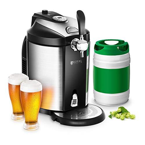 Royal Catering Dispensador de Cerveza Tirador de Cerveza con Refrigeración...