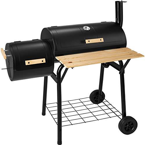 TecTake Barbacoa Barbecue Grill con Carbón Vegetal Parrilla Fumador - Varios...