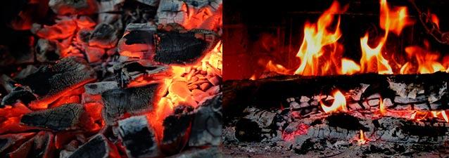 ¿Qué combustible es mejor que es mejor la leña o carbón?